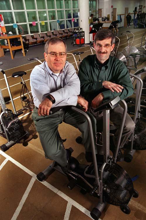 (Cris Slentz, a la izquierda, y William Kraus.) (Foto: DUMC)