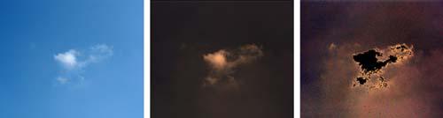 (Lo que parece un cielo claro alrededor de una nube no lo es tanto mediante técnicas de observación avanzadas.) (Foto: Koren et al., Geophysical Research Letters)