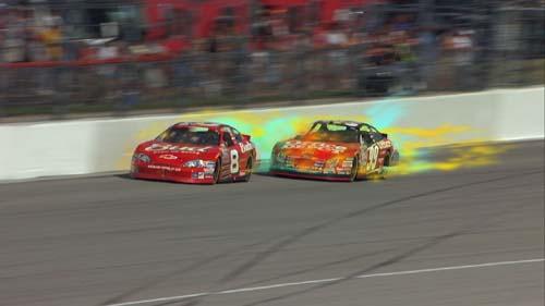 (El software muestra el flujo de aire tras los coches.) (Foto: ESPN)